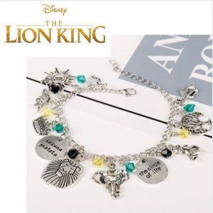 New! Women's Lion King Charm Bracelet